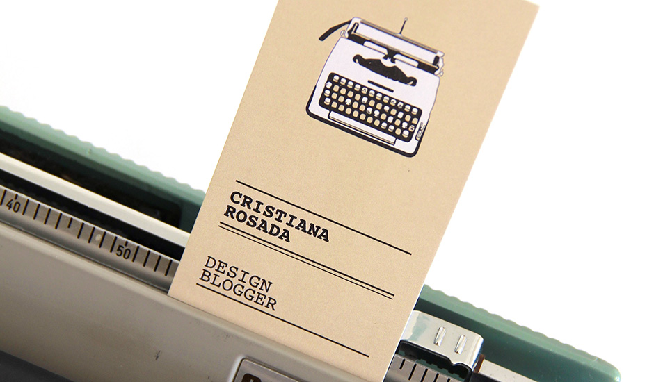 design blogger cristiana rosada contatti