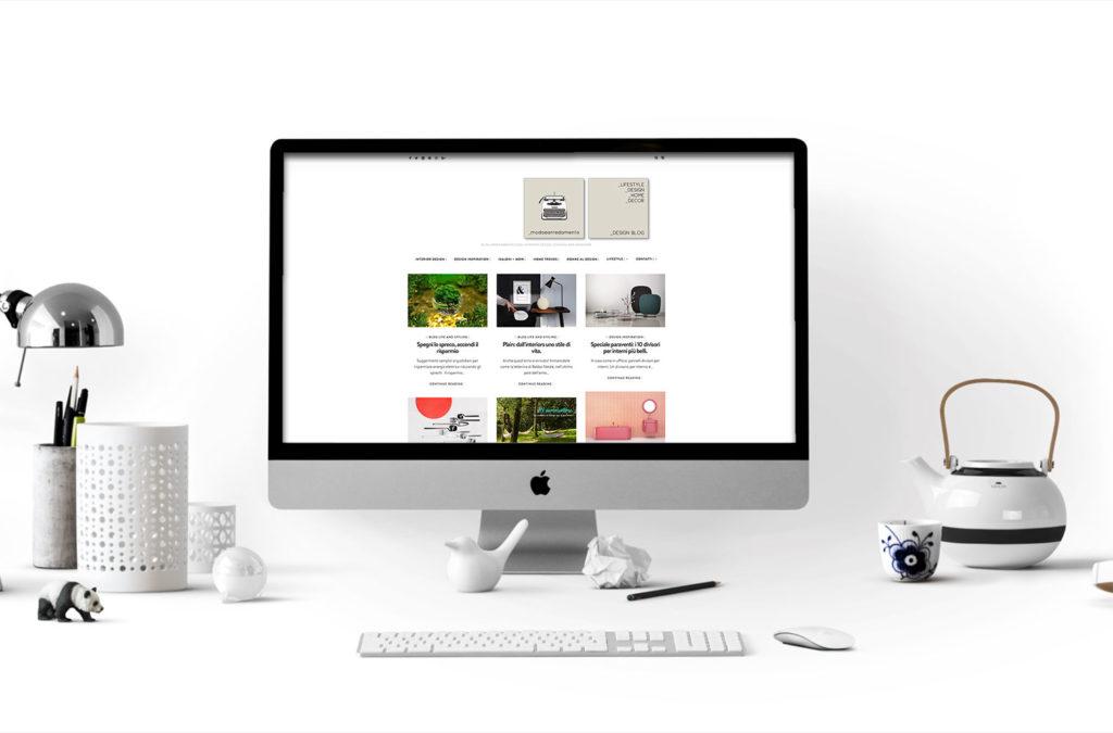 computer con sito internet
