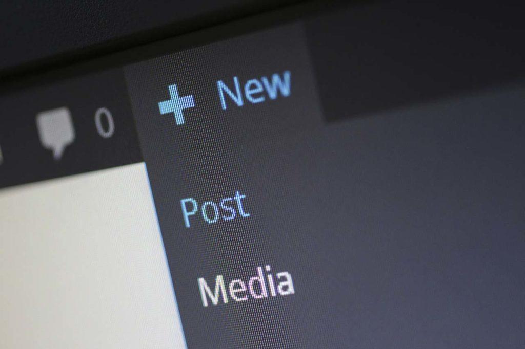 aggiungere un nuovo post in un blog come fare